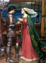 John William Waterhouse  - Bilder Gemälde - Tristan und Isolde