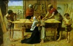 John Everett Millais - paintings - Christ in the House of his Parents