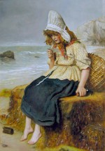 John Everett Millais - paintings - Message from the Sea