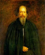 John Everett Millais - paintings - Portrait of Lord Alfred Tennyson
