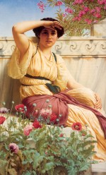 John William Godward - paintings - A Tryst