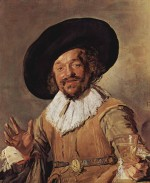 Frans Hals - paintings - The Merry Drinker