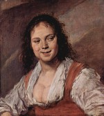 Frans Hals - paintings - Gypsy Girl