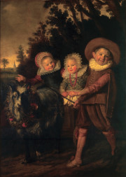 Frans Hals - paintings - Group of Children