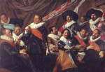 Frans Hals - paintings - Banquet of the Officer of the St George Civic Guard Company