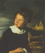 Frans Hals - paintings - Fischermaedchen