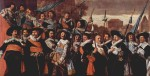 Frans Hals - paintings - Officers and Sergeants of the St George Civic Guard Company