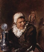 Frans Hals - paintings - Malle Babbe