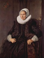 Frans Hals - paintings - Cornelia Claesdr Vooght