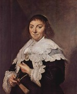 Frans Hals - paintings - Portrait der Maria Pietersdr. Olycan