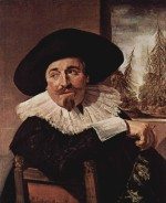 Frans Hals - paintings - Isaak Abrahamsz Massa