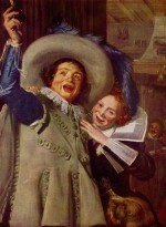 Frans Hals - paintings - Jonker Ramp and his Sweetheart