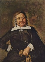 Frans Hals - paintings - Portrait des Willem Croes