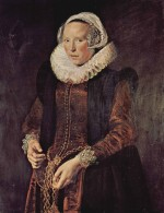 Frans Hals - paintings - Portrait of a Woman
