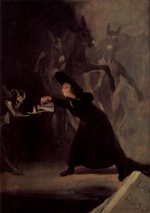 Francisco Jose de Goya - paintings - The Bewitched Man