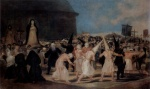 Francisco Jose de Goya - paintings - Procession of Flagellants on Good Friday