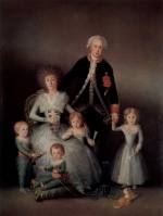 Francisco Jose de Goya - paintings - The Duke and Duchess of Osuna and their Children