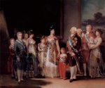 Francisco Jose de Goya - paintings - Charles IV and his Family