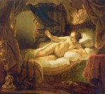 Rembrandt - paintings - Danae
