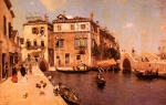Martin Rico y Ortega - paintings - A Venetian Afternoon
