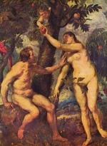 Peter Paul Rubens - paintings - Adam and Eve