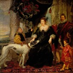 Peter Paul Rubens - paintings - Althea Talbo Graefin in Shrewsbury