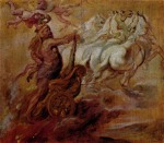Peter Paul Rubens - paintings - Apotheose des Herkules