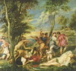Peter Paul Rubens - paintings - Bacchanal auf Andros