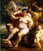 Peter Paul Rubens - paintings - Bacchus