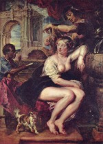 Peter Paul Rubens - Bilder Gemälde - Bathseba am Brunnen