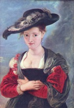 Peter Paul Rubens - paintings - The Straw Hat