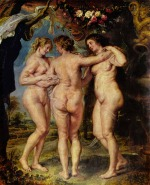 Peter Paul Rubens - paintings - The Three Graces