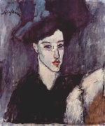 Amadeo Modigliani - paintings - The Jewess