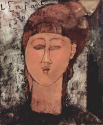 Amadeo Modigliani - paintings - L entant gras