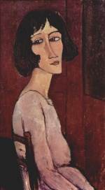 Amadeo Modigliani - Peintures - Portrait de Margherita