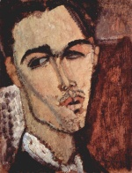 Amadeo Modigliani - paintings - Portrait of the Spanish Painter Celso Lagar