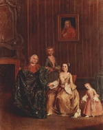 Pietro Longhi - paintings - The Tailor