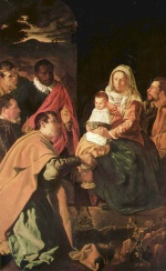 Diego Velázquez - paintings - The Adoration of the Magi