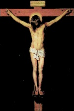 Diego Velázquez - paintings - Christ on the Cross