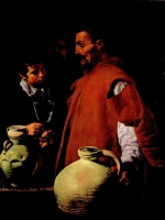 Diego Velázquez - paintings - The Waterseller of Seville
