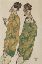 Egon Schiele - paintings - Andacht