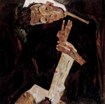 Egon Schiele - paintings - Der Lyriker