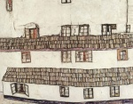 Egon Schiele - paintings - Finestre
