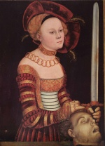 Lucas Cranach - paintings - Judith