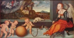 Lucas Cranach - paintings - Melancholie