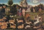 Lucas Cranach - paintings - Paradies