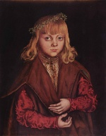 Lucas Cranach - paintings - A Prince of Saxony