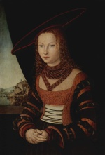 Lucas Cranach - paintings - Portrait of a Woman
