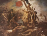 Eugene Delacroix - paintings - Liberty Leading the People (28th July 1830)