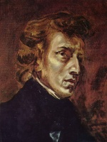 Eugene Delacroix - paintings - Frederic Chopin
